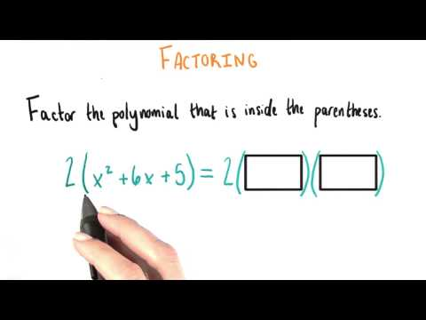Factor Again - College Algebra thumbnail