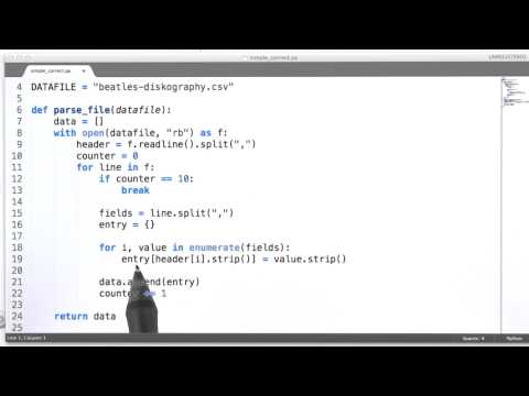 Parsing CSV Files - Data Wranging with MongoDB thumbnail
