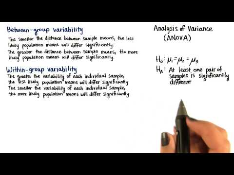 Between-Group Variability - Intro to Inferential Statistics thumbnail
