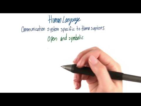 Human language - Intro to Psychology thumbnail