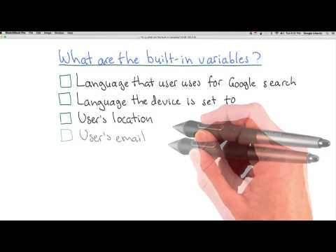 What are the Built in Variables Quiz thumbnail