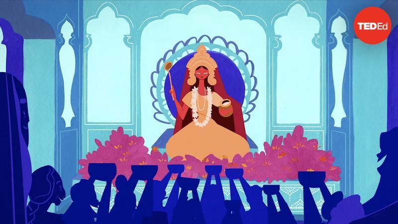 The legend of Annapurna, Hindu goddess of nourishment thumbnail