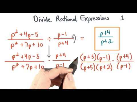 Divide Rational Expressions 1 - Visualizing Algebra thumbnail