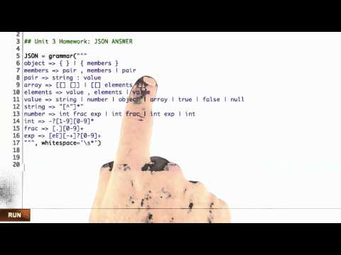 Json Parser Solution - Design of Computer Programs thumbnail