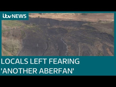 Landslides in south Wales leave locals fearing 'another Aberfan'   ITV News thumbnail