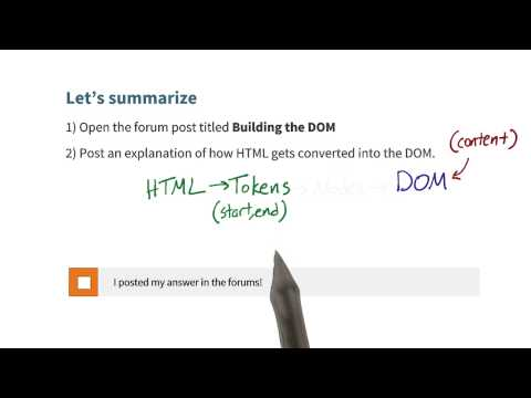 Cameron Summarizes DOM Construction - Website Performance Optimization thumbnail