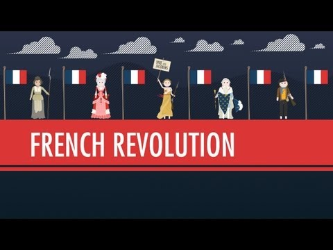 The French Revolution Crash Course World History 29 With Subtitles