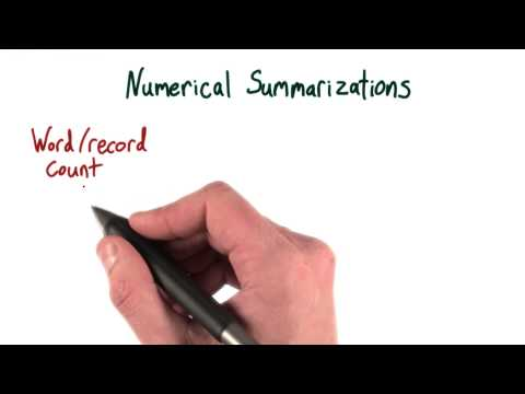 Numerical Summarizations - Intro to Hadoop and MapReduce thumbnail