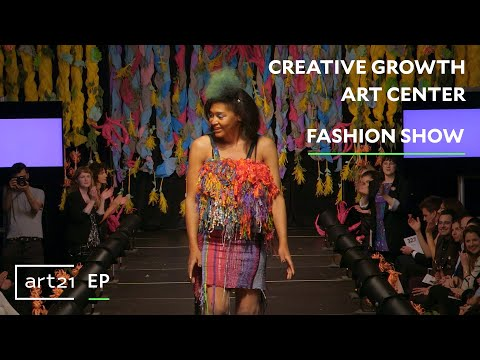 "Creative Growth Art Center: Fashion Show | Art21 ""Extended Play"" thumbnail"