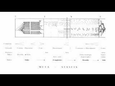 Iannis Xenakis - Metastasis thumbnail