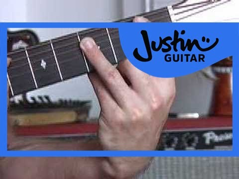 Basic Barré Chords #3of4 (Guitar Lesson CH-006) How to play  A shapped barre chords   thumbnail