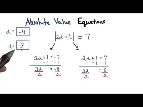 Absolute Value Equations Explained - Visualizing Algebra thumbnail
