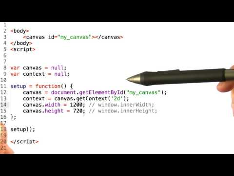 Your first canvas - HTML5 Game Development thumbnail