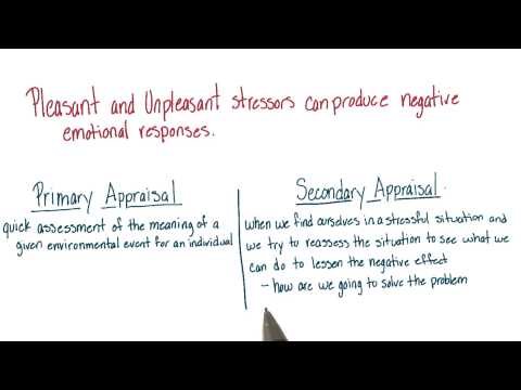 Recapping stressors and appraisal - Intro to Psychology thumbnail