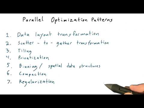 10-23 Parallel Optimization Patterns Recap thumbnail