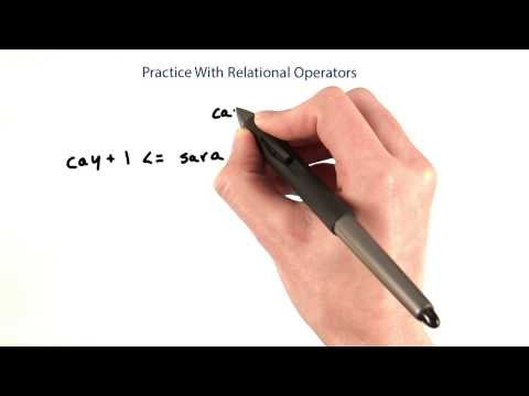 08-14 Practice With Relational Operators thumbnail