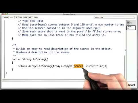 Homework Scores Continued - Intro to Java Programming thumbnail