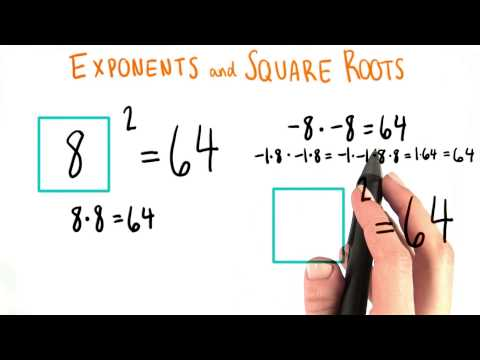 Square Roots - College Algebra thumbnail