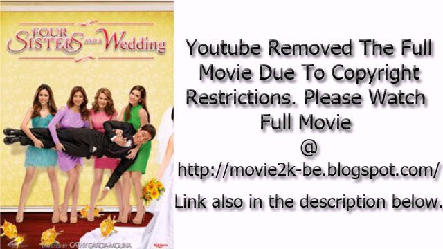 four sisters and a wedding full movie youtube