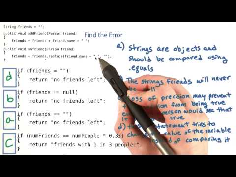 Find the Error - Intro to Java Programming thumbnail