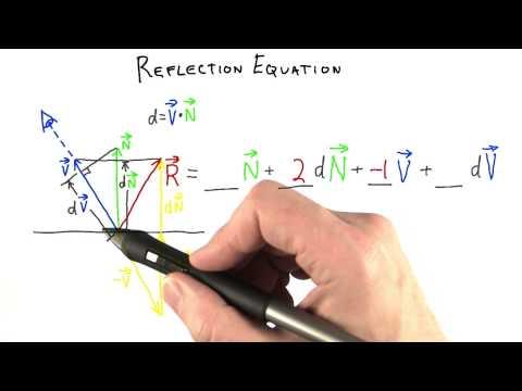 Reflection Equation - Interactive 3D Graphics thumbnail