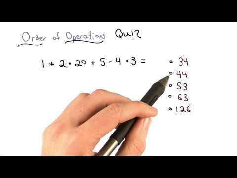 Order of Ops Check 1 - Visualizing Algebra thumbnail
