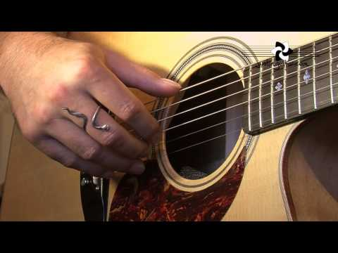 Basic Fingerstyle: Travis Finger Picking (Folk Guitar Lesson FO-108) How to play thumbnail