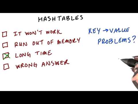 Hashtables - Intro to Hadoop and MapReduce thumbnail