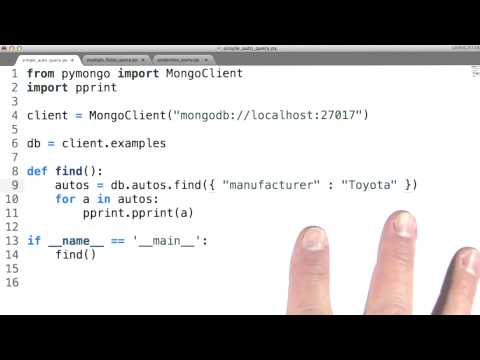 Querying Using Field Selection - Data Wranging with MongoDB thumbnail