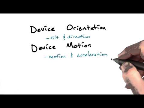 Device orientation and motion - OSP thumbnail