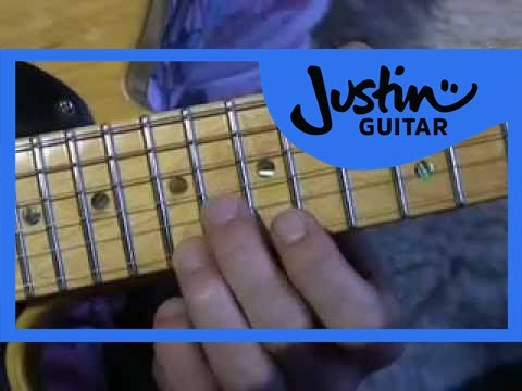 Blues Lead Guitar: Position 5 Licks #16of20 (Guitar Lesson BL-026) How to play thumbnail