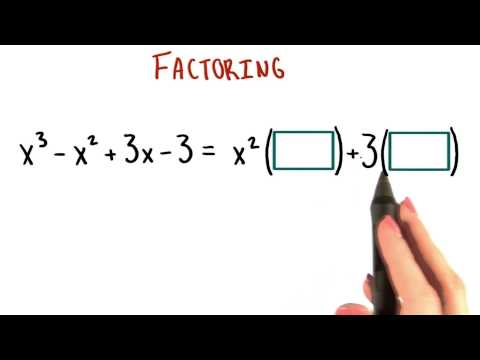 Pairing Terms - College Algebra thumbnail