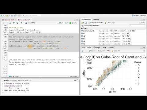 Predictions - Data Analysis with R thumbnail