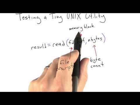 Testing A Unix Utility - Software Testing thumbnail