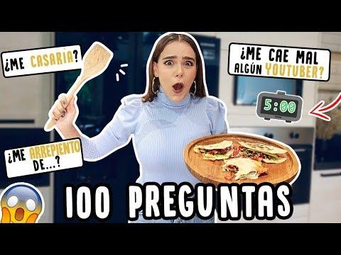 ¡100 PREGUNTAS EN 5 MINUTOS! ¡NERRRVIOOOOOS! ♥️- Yuya thumbnail