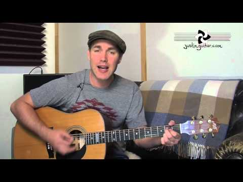 Hound Dog - Elvis (Very Easy Song Beginner Guitar Lesson BS-103) How to play thumbnail