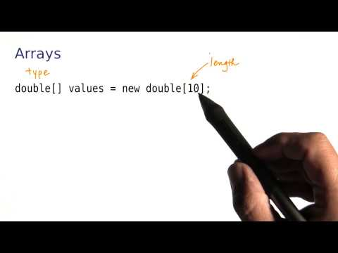 Arrays - Intro to Java Programming thumbnail