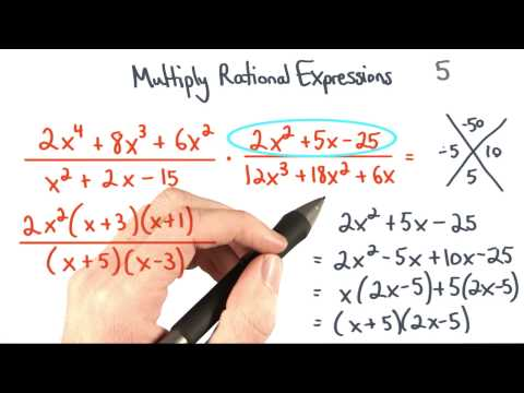 Multiply Rational Expressions 5 Factor - Visualizing Algebra thumbnail