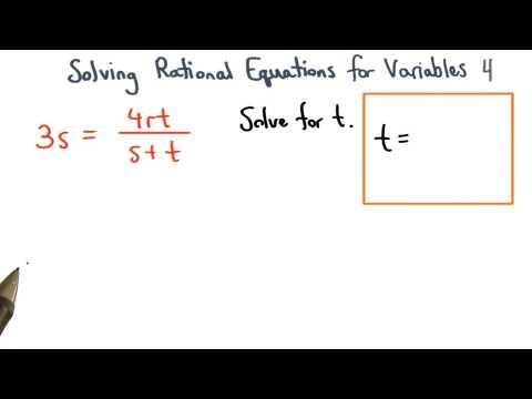Solving Formulas Practice 4 - Visualizing Algebra thumbnail