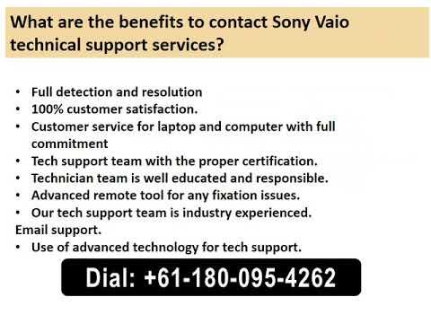 Sony Vaio Support