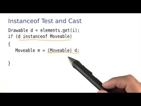 Instanceof Test and Cast - Intro to Java Programming thumbnail