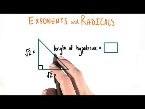 Hypotenuse - College Algebra thumbnail