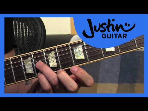 Lick #1: Chromatic 6th's (Guitar Lesson LK-001) How to play thumbnail