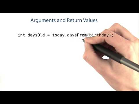 Arguments and Return Values Exercise - Intro to Java Programming thumbnail