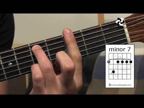 E Shape Barre Chord Grips 7 & Min7 (Guitar Lesson IM-121) How to play IF Stage 2 thumbnail