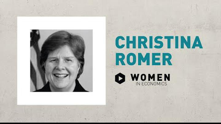 Christina Romer | Women in Economics