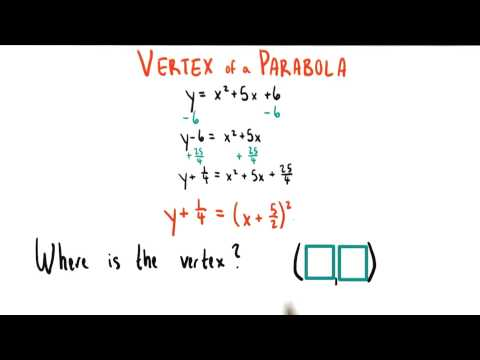 Read off the Vertex - College Algebra thumbnail