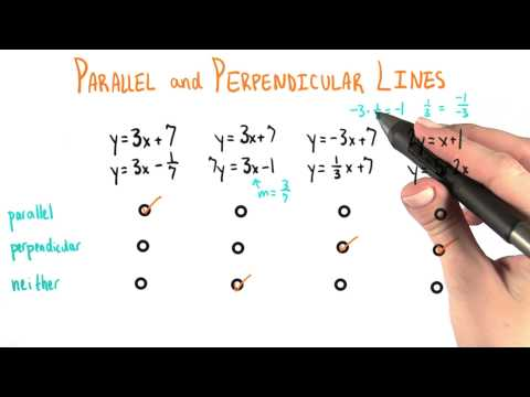 Parallel Or Perpendicular Answer - College Algebra thumbnail