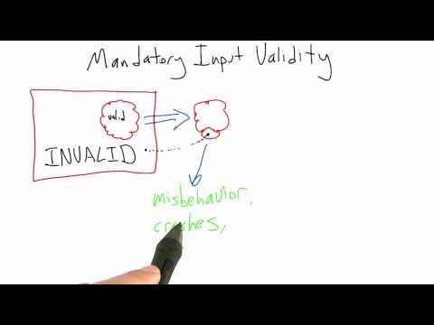 Mandatory Input Validity - Software Testing thumbnail