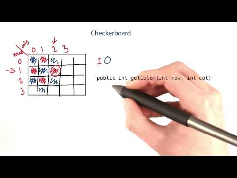 Checkerboard - Intro to Java Programming thumbnail